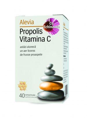 Propolis Vitamina C cu Echinacea x40cp